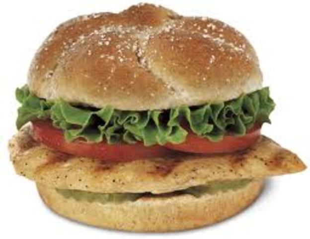 Introduces the Chargrilled Chicken Sandwhich