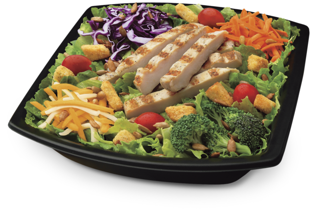 Southwest Chargrilled Salad is born