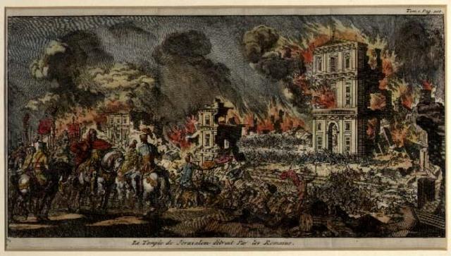 Babylon captures Jerusalem - 586 BC