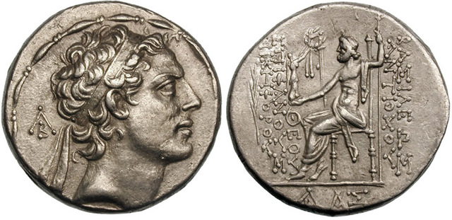 Antiochus forces Hellenism - 170 BC