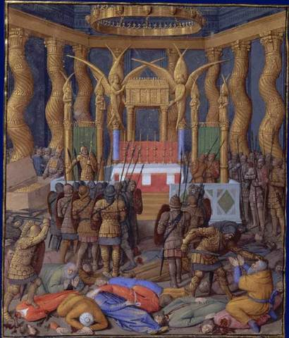 Roman general Pompey takes over Judaea - 63 BC