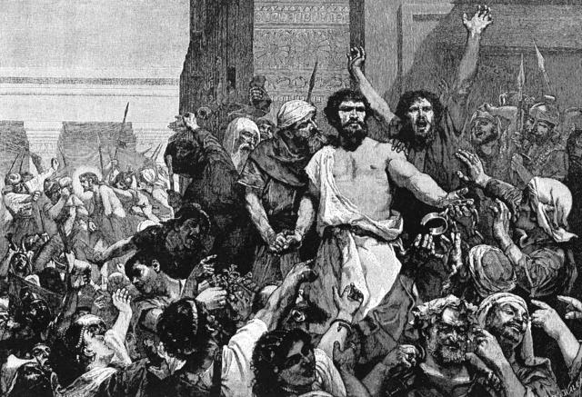 Jews rebel against Rome - 66 CE