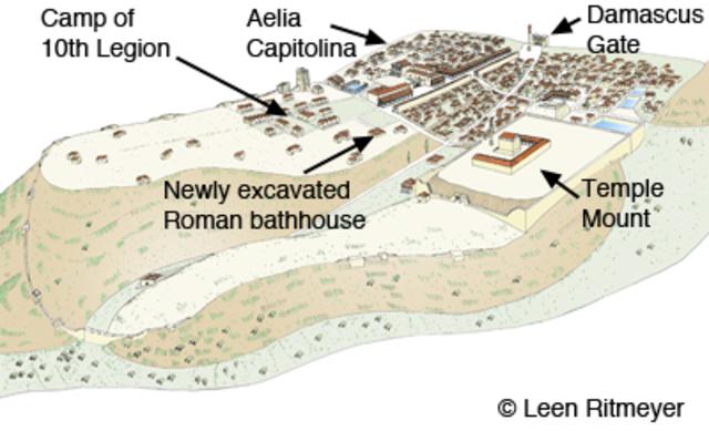 Romans take over Judaea - 132-135 CE