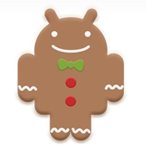 Versión 2.3 Gingerbread