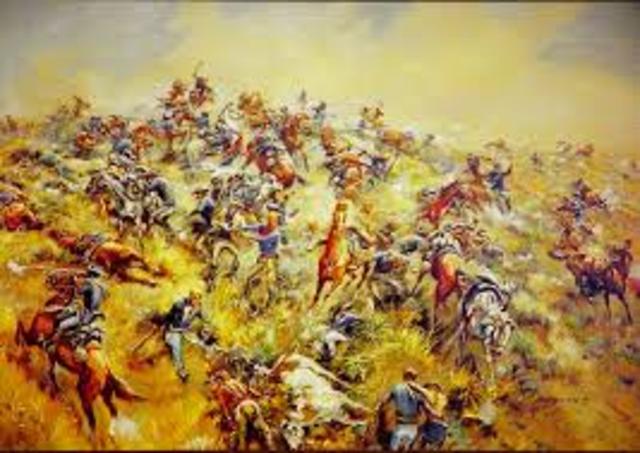 The Battle of Little Big Horn