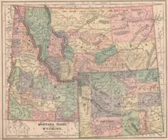 Wyoming and Idaho