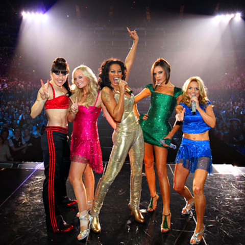 the group performed for a UK-only Christmas tour, called Christmas in Spiceworld, in London and Manchester; they also appeared at the 2000 Brit Awards, to announce that they'd received the Outstanding Lifetime Achievement Award