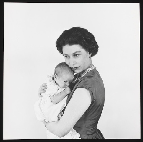 The first child, Prince Charles