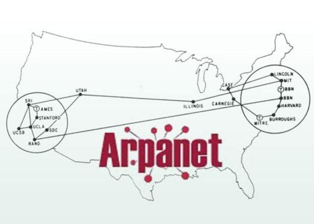 Primera red de área amplia del mundo