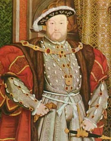 Enrique VIII, La Iglesia Anglicana