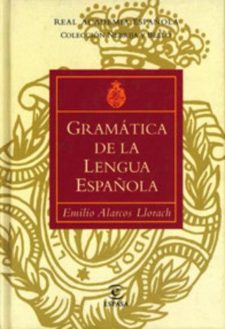 Gramática de la Lengua Española de Emilio Alarcos