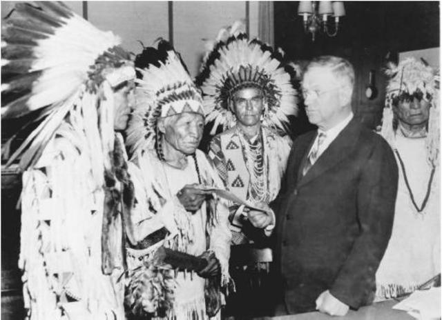 Indian Reorganization Act  (Wheeler–Howard Act)