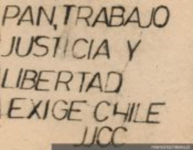 """""""Pan, Trabajo, Justicia y Libertad"""