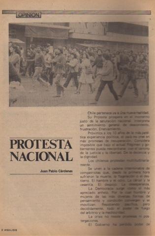 Protesta Nacional