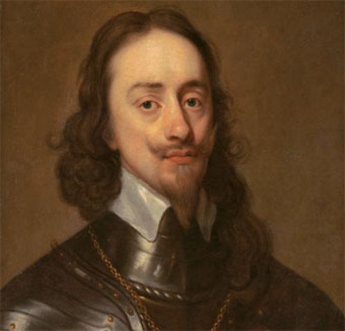 Carlos I de Inglaterra, Escocia e Irlanda