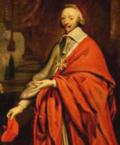 El Cardenal Richelieu