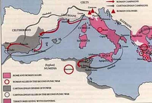Punic War II-- BC