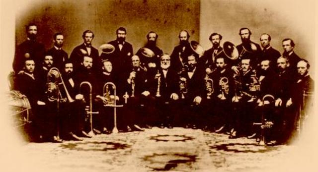Joseph Green and the American Brass band