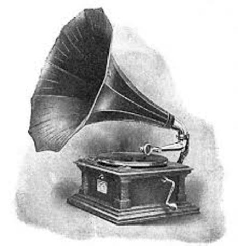 Tomas Edison's phongraph