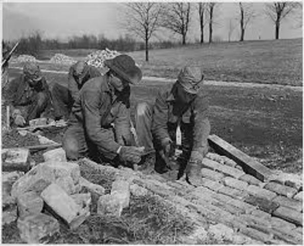Civilian Conservation Corps (CCC) founded