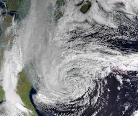 """Tropical Storm """"San Vicente"""""""