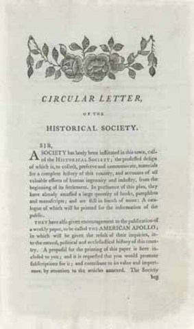 Massachusetts Circular Letters