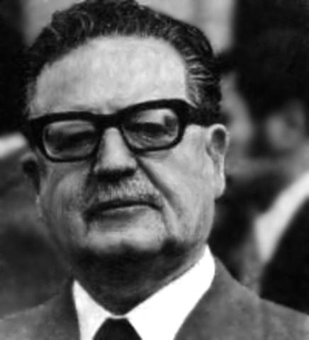 Gobierno de la Unidad Popular (Presidente Salvador Allende)
