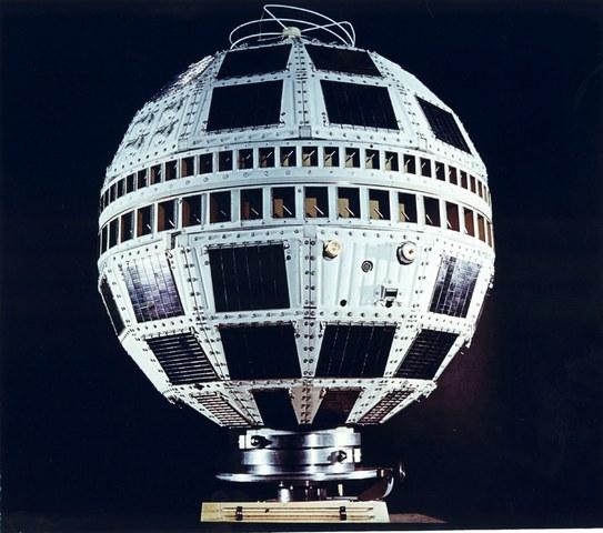 Lanzamiento del satélite Telstar.