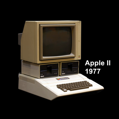 computadora domestica: Apple II.