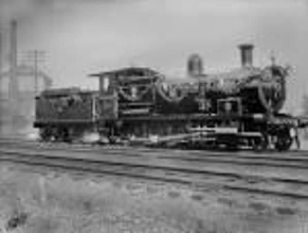 First train enters Johannesburg