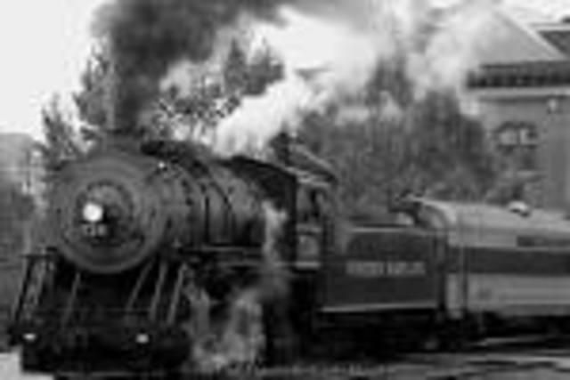 First steam train in Pretoria