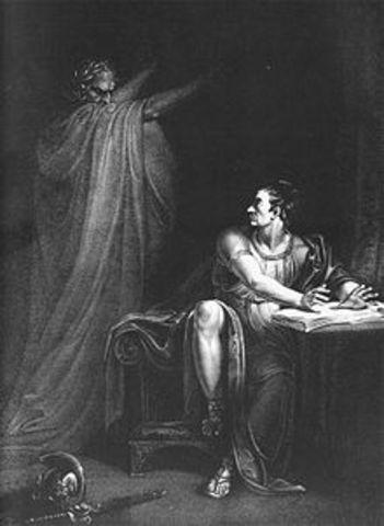 Shakespear writes the tragedy of julius caesar