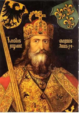Charlemagne was born