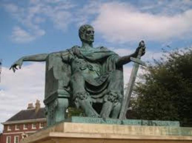 Constantine's Death