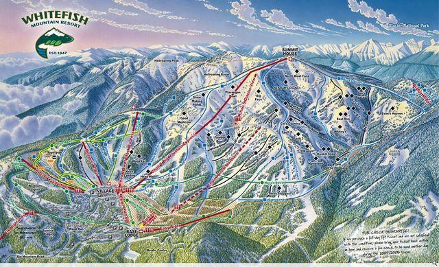 Skiing in Montana