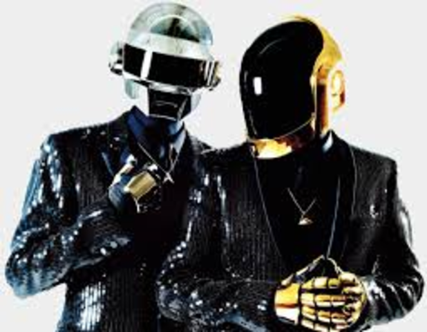 Daft Punk with their new electric beat