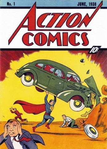 First Animated Action Hero