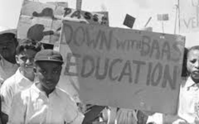 The Bantu Education Act is passed