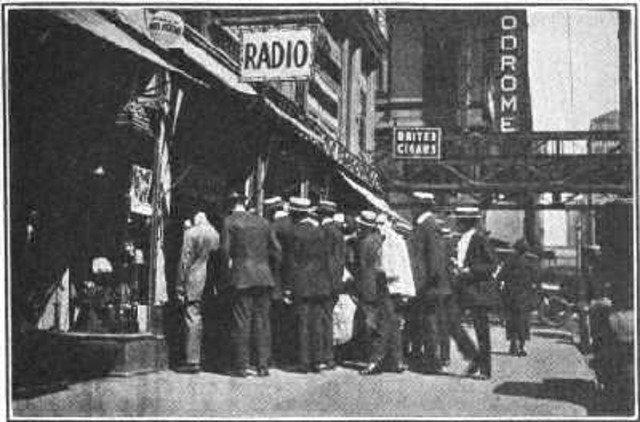 Radio Broadcasting Started in the U.S.