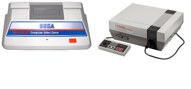 Sega and Nintendo