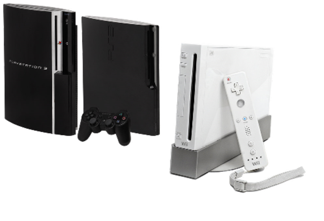 Wii and Playstation 3
