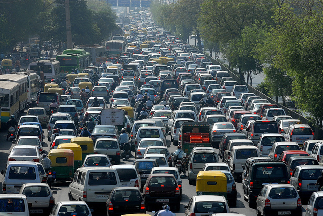 Traffic in China?