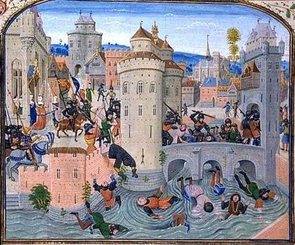 Jacquerine Uprising in France