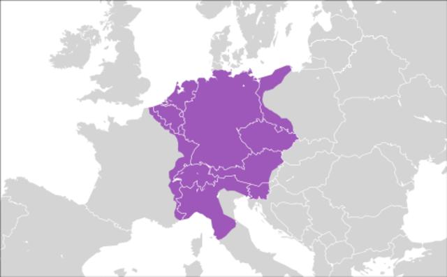 Holy Roman Empire attack Rome