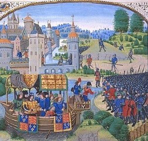 Wat Tyler's Rebellion in England