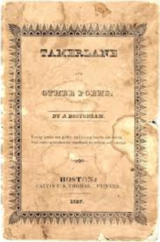 Poe publishes first book