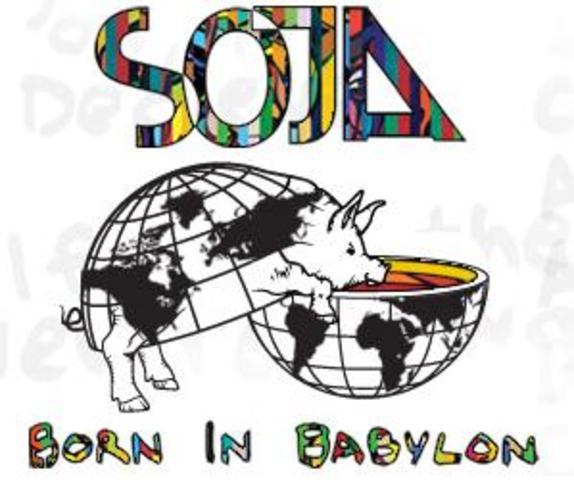 """Penultimo disco, """"Born in babylon"""""""