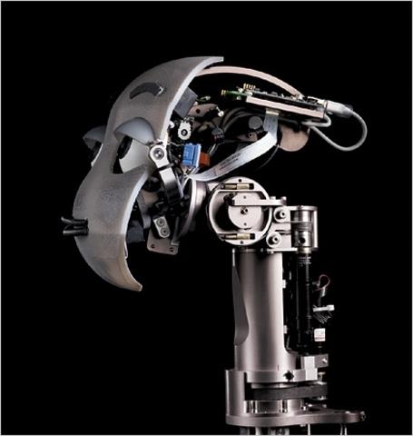 Mertz, cabeza robótica