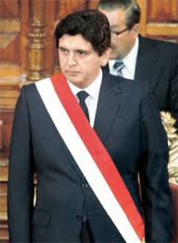 Inicio del Primer Gobierno de Alan García