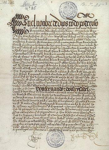 Italian wars begin/Treaty of Tordesillas